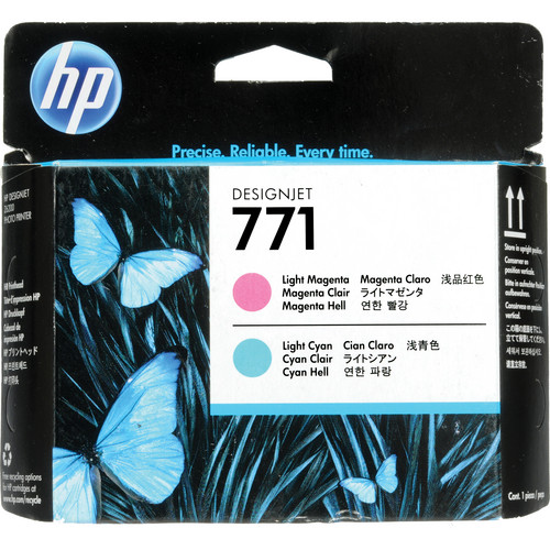 HP 771 Light Magenta & Light Cyan Designjet Printhead