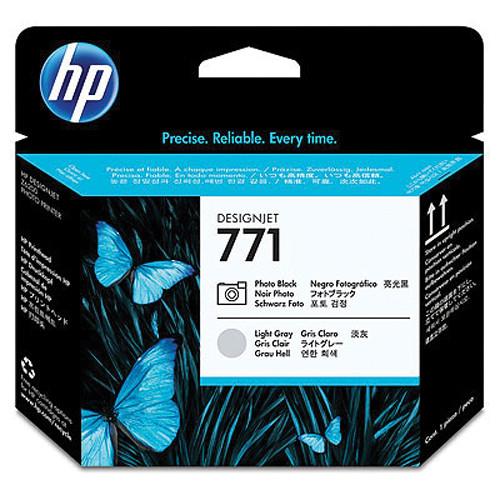 HP 771 Photo Black & Light Gray Designjet Printhead