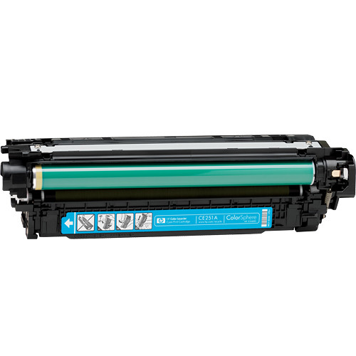 HP 504A Color LaserJet Cyan Print Cartridge