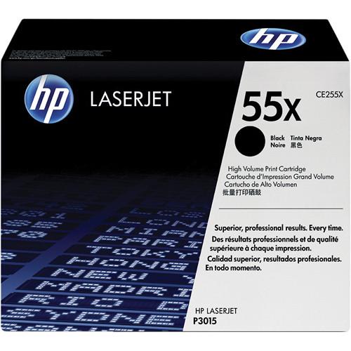 HP 55X High-Capacity Black LaserJet Toner Cartridge