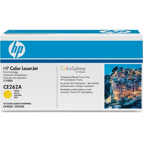 HP CE262A Color LaserJet Yellow Print Cartridge