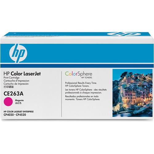 HP CE263A Color LaserJet Magenta Print Cartridge