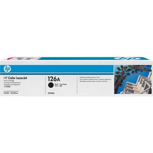 HP126A Black LaserJet Toner Cartridge (CE310A)