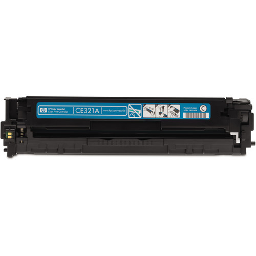 HP 128A Cyan LaserJet Toner Cartridge