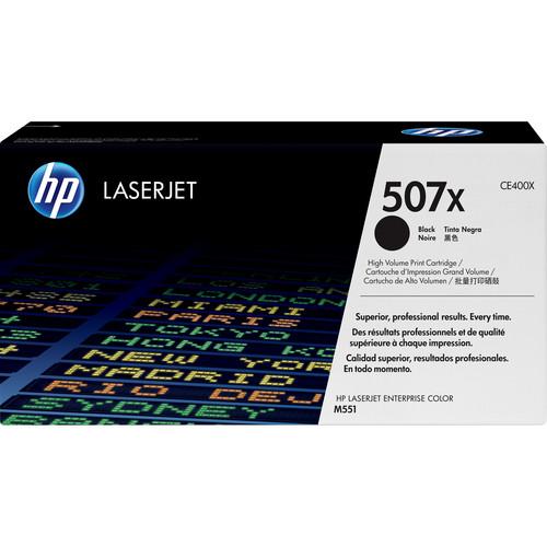 HP 507X Black LaserJet Toner Cartridge