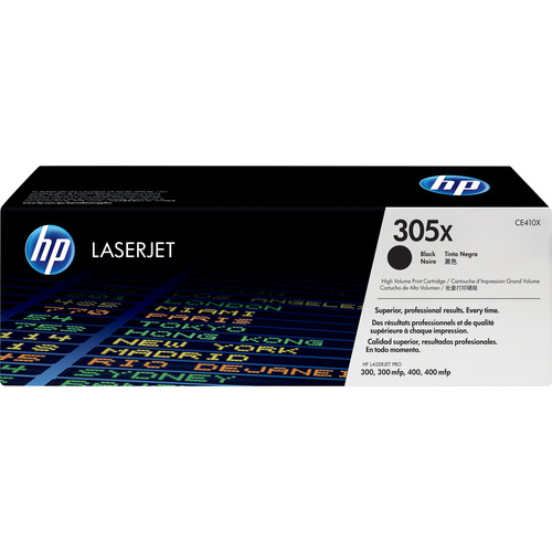 HP 305X Black LaserJet High-Capacity Toner Cartridge