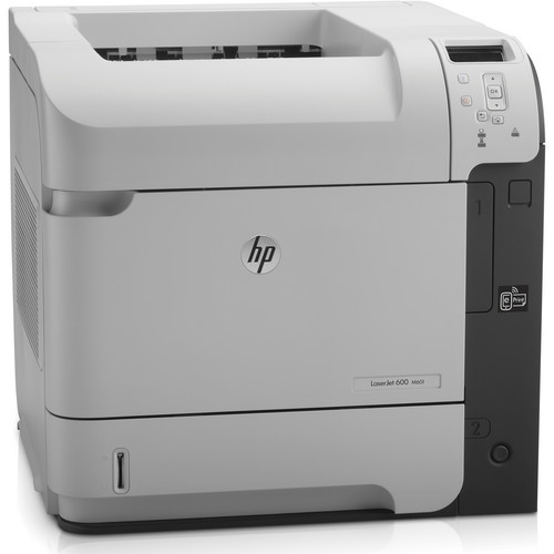 HP LaserJet Enterprise 600 M601n Network Monochrome Laser Printer