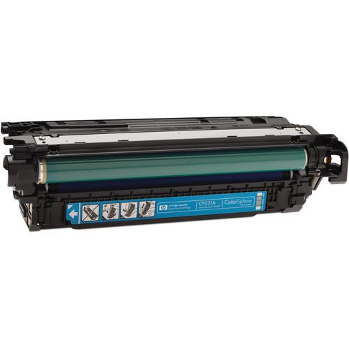 HP Cyan Laserjet Print Cartridge For CM4540 Series