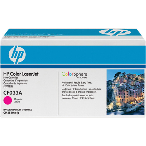 HP Magenta Laserjet Print Cartridge For CM4540 Series