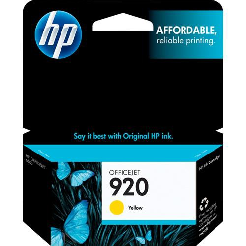 HP 920 Yellow Officejet Ink Cartridge