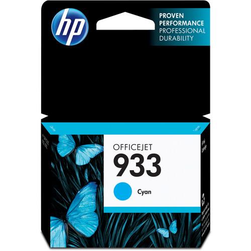 HP 933 Cyan Officejet Ink Cartridge