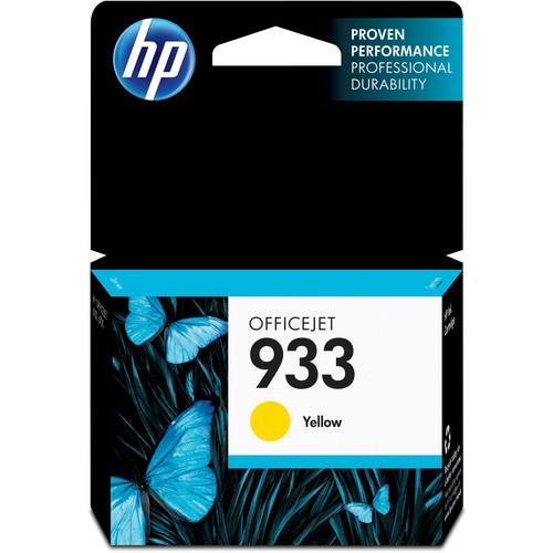 HP 933 Yellow Officejet Ink Cartridge