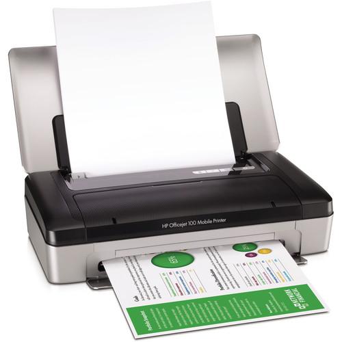 HP Officejet 100 Mobile Color Inkjet Printer