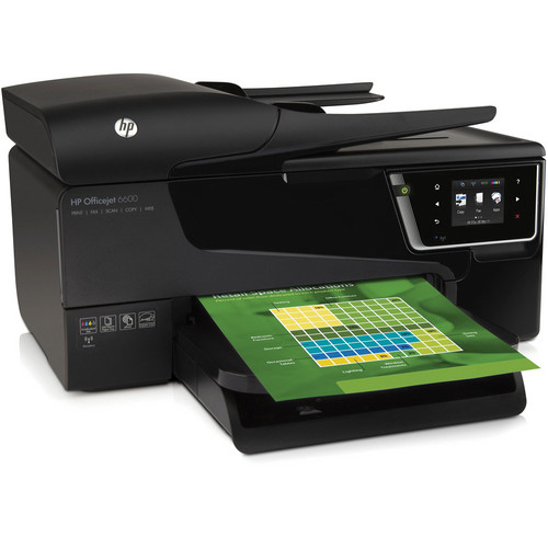 HP Officejet 6600 Premium Wireless Color e-All-in-One Inkjet Printer