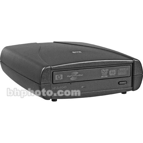 HP dvd1040e 20x External USB 2.0 SuperMulti DVD Burner with LightScribe