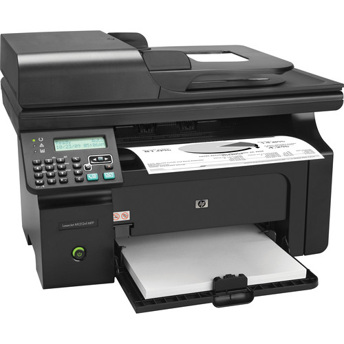 HP LaserJet Pro M1212nf Network Monochrome All-in-One Laser Printer
