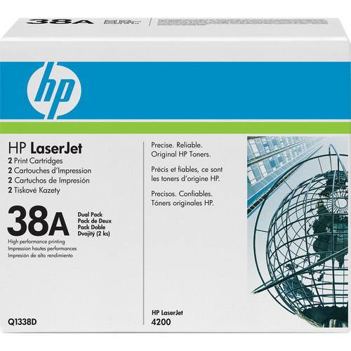 HP LaserJet 38A Print Cartridge (Dual Pack)