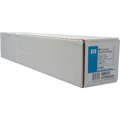 """HP Universal Inkjet Bond Paper (Matte) - 24"""" Wide Roll - 150' Long"""