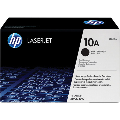 HP 10A Black LaserJet Toner Cartridge
