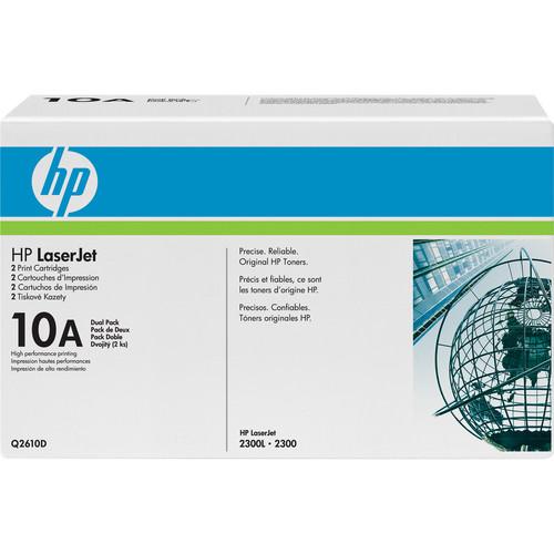 HP LaserJet 10A Print Cartridge (Dual Pack)