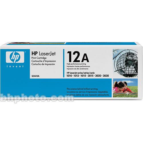 HP LaserJet Q2612A Black Print Cartridge