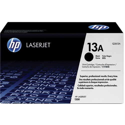 HP LaserJet 13A Black Toner Cartridge