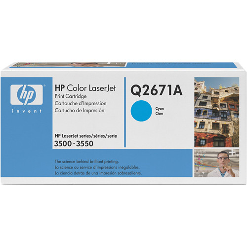 HP 309A Cyan LaserJet Toner Cartridge