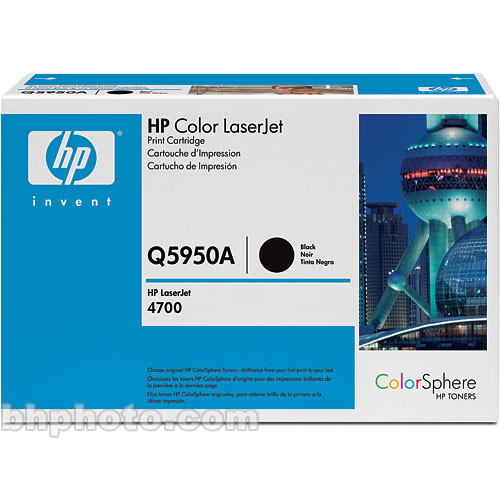 HP Color LaserJet Q5950A Black Print Cartridge