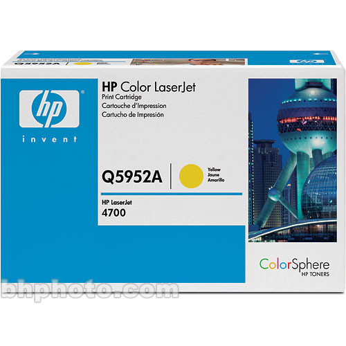 HP Color LaserJet Q7582A Yellow Print Cartridge