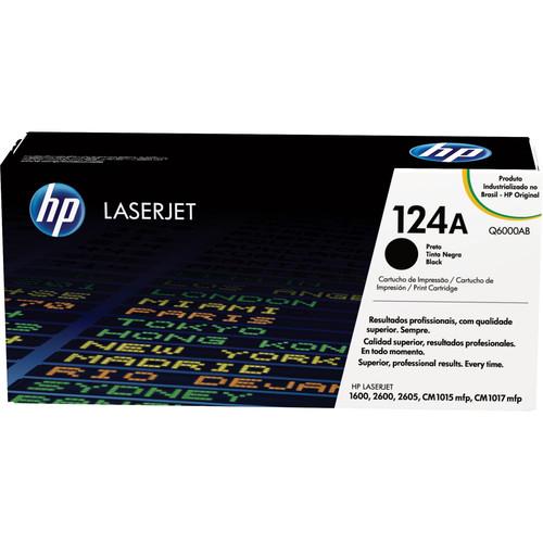 HP LaserJet 124A Black Print Cartridge