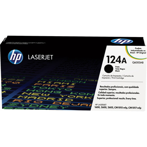 HP LaserJet 124A Black Print Cartridge