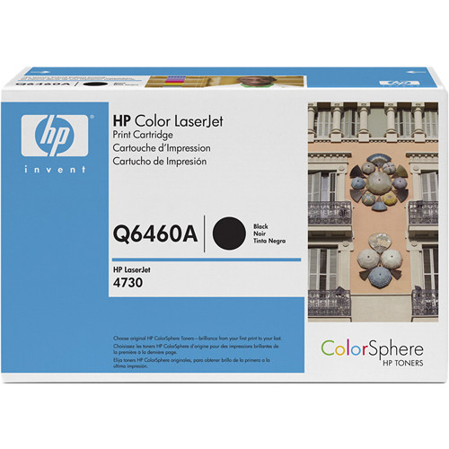 HP Color LaserJet Black Print Cartridge