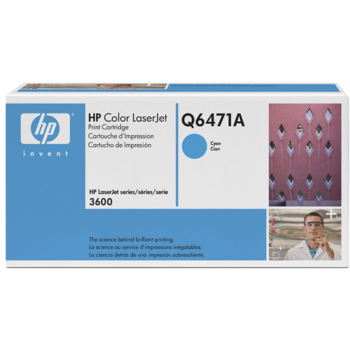 HP Color LaserJet 502A Cyan Print Cartridge