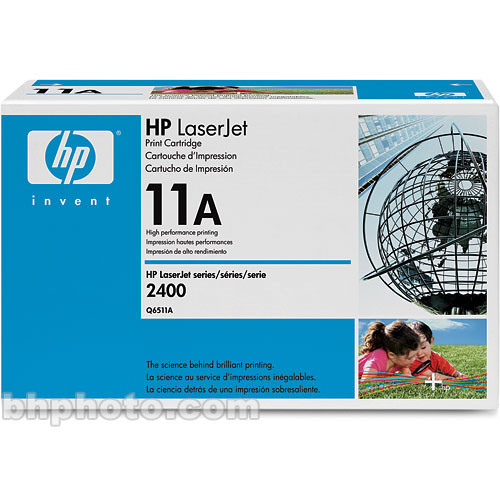 HP LaserJet 11A Black Print Cartridge