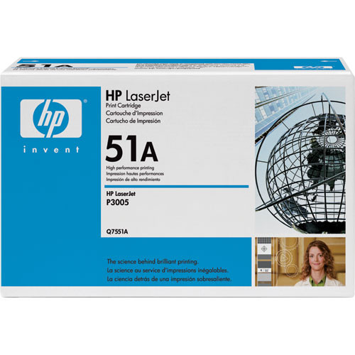 HP LaserJet 51A Black Print Cartridge
