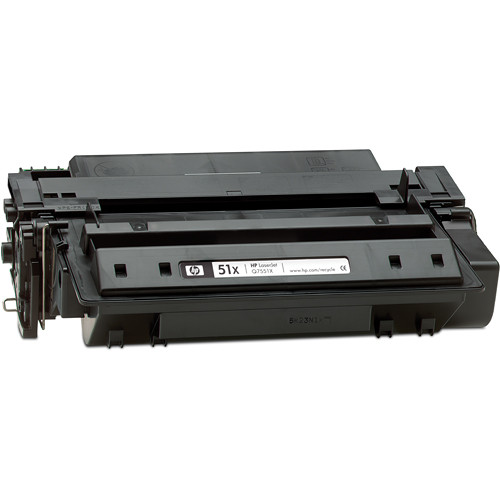 HP 51X LaserJet Black Print Cartridge (13,000 Page Yield)