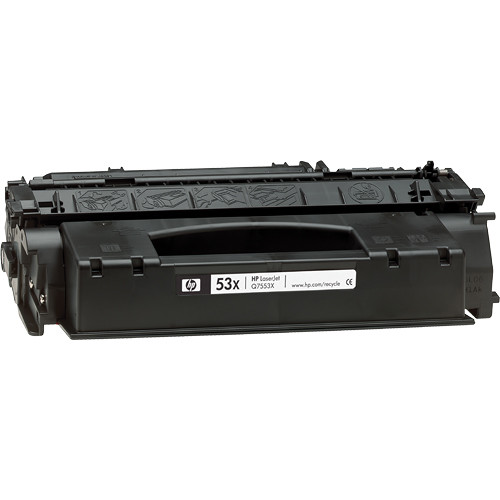 HP LaserJet 53X Black Print Cartridge