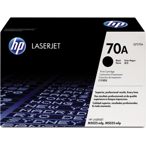 HP 70A Black LaserJet Toner Cartridge