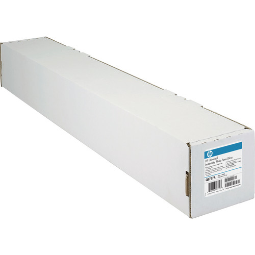 "HP Q8757A Universal Instant-Dry Semi-gloss Photo Paper (60"" x 200' Roll)"