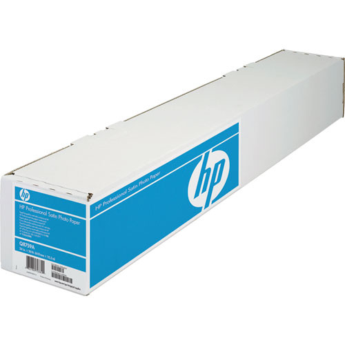 "HP Professional Satin Photo Paper - 24"" Wide Roll - 50' Long"
