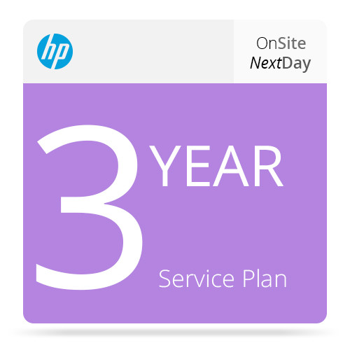 HP 3-Year Next Business Day Onsite Support for Z3100/Z3200 Printers