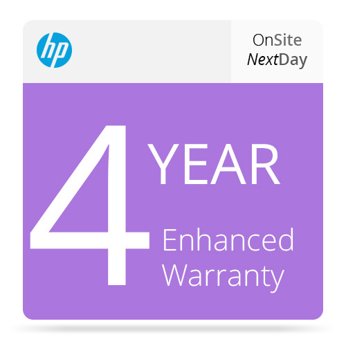 HP 4-Year Next Business Day Onsite Support for Z3100/Z3200 Printers