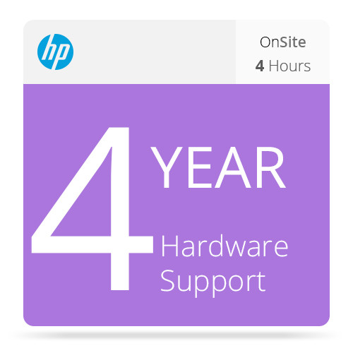 HP 4-Year 4-Hour Response 13x5 Onsite Support for Z3100/Z3200 Printers