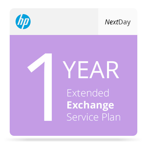 HP 2-Year Hewlett-Packard Next Day Exchange Extended Service Plan