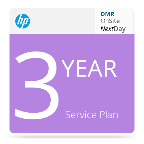 HP 3-Year Next Business Day Onsite DMR Support for Z3100/Z3200 Printers