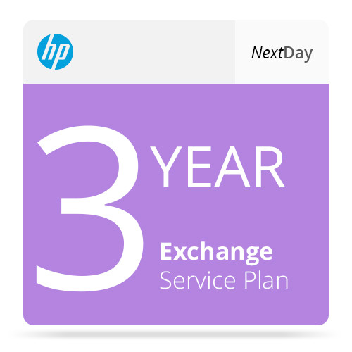 HP 3-Year Next Business Day Exchange Service  For Color LaserJet CP2025