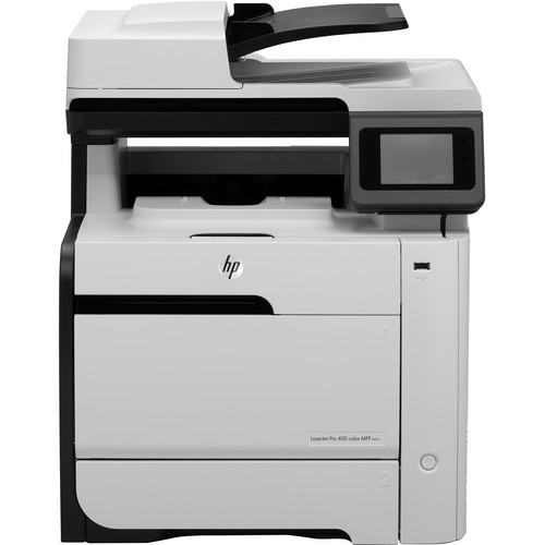 Hp laserjet pro 400 m475dn network color all in one laser printer
