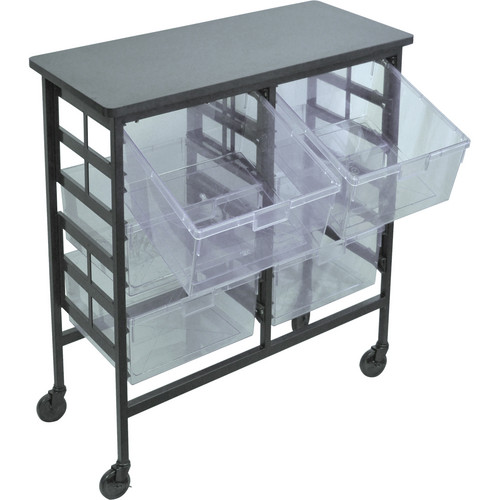 H. Wilson C122D6-CL Bin Workstation/Storage Unit