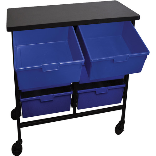 H. Wilson C122D6-PB Bin Workstation/Storage Unit