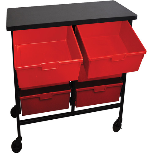 H. Wilson C122D6-PR Bin Workstation/Storage Unit